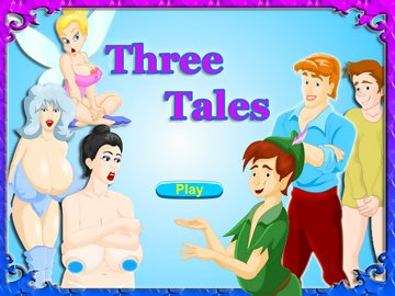 swf, three, tales, sex, game, travel, worlds, fairy, sleeping, beauty, peter, pan, wendy, snow, queen, characters, cartoons, humorous, animated, graphics, creepy