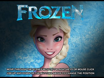 swf, frozen, elsa, job, melt, center, three, gender, scenes, multiple, choices, clicking, buttons, switch, clickingon