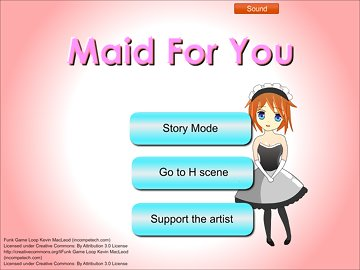 swf, minigame, visual novel, asian, hentai, duel master, uniform, maid, blowjob, cumshot