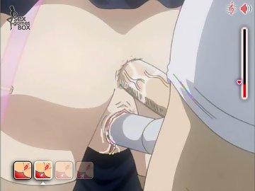 swf, double penetartion, cute, video, hentai, anime, uniform, maid, cumshot, anal