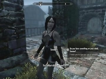Skyrim Porn, anime, cartoon, skyrim, game, rpg, elderscrolls, mod, riding, cowgirl, adult, fucking, xxx, dick, tits, sex