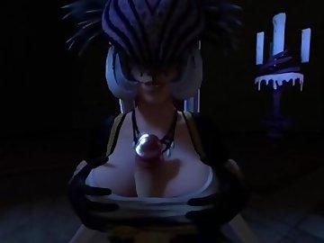 smite hentai pornó Creampie szex gif