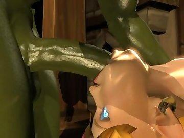 Legend of Zelda Hentai, cartoon, anal, handjob, blonde, fuck, ass, ganondorf, link, zelda