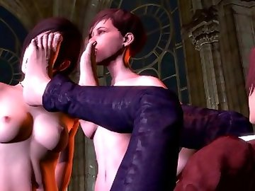 Resident Evil Porn, 60fps, cartoon, shemale, futa, fetish, foot, evil, resident