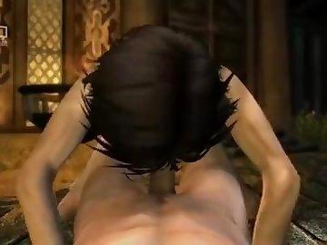 Skyrim Porn, anime, masturbate, hentai, videogame, myrrah218, rule34, skyrim, amateur, masturbation, cartoon