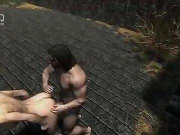 Skyrim Porn, anime, masturbate, skyrim, rule34, myrrah218, videogame, hentai, amateur, masturbation, cartoon