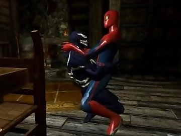 spiderman, cartoon, gay, fetish, spider