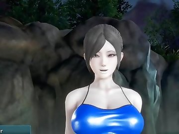 King of Fighters Hentai, mmf, threeway, face fuck, cocksucking, oral, bj, big cock, trio, nintendo, wii, 3d, ssb4, yoga, point of view, anime, 3some, uncensored in hentai, threesome, pov, hentai, hd porn, blowjob, big tits, big dick