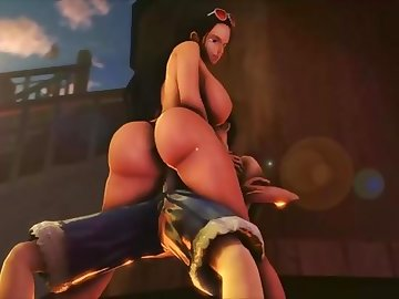 One Piece Hentai, doggy, interracial, big dick, tit fucking, cowgirl, big boobs, big tits, brunette, milf, outside, outdoor, one piece, anime, uncensored in hentai, public, hentai, hardcore, hd porn, compilation, one piece sex
