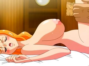 One Piece Hentai, one piece, nami, nami hentai, big boobs, anime, red head, pov, hentai, hd porn, cumshot, cosplay, big tits, one piece sex