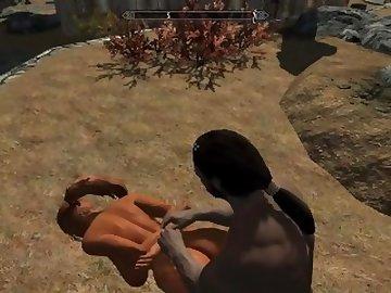 skyrim porn video