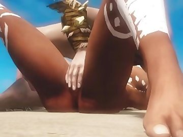 Skyrim Porn, anime, black, boobs, skyrim, cartoon, 3d, animation, animated, laarel, immersive, porn, first, person, pov, ebony, tattoo, beach, episode, tits, hardcore, 60fps