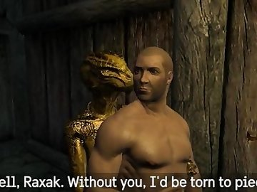 Skyrim Porn, skyrim, argonian, 3d, lizardman, cartoon
