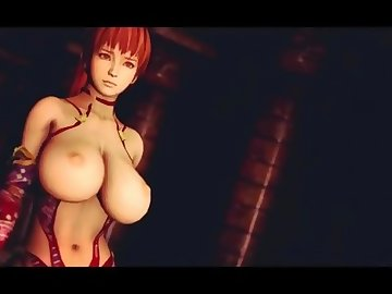 Dead or Alive Hentai, anime, big cock, ass fuck, rough sex, red head, hardcore, hd porn, cartoon, big dick, dead or alive