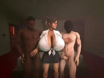 Lara Croft Porn, penetration, double, threesome, anal, handjob, creampie, blowjob, 3d, croft, lara, sfm, 3some, dp, fuck, ass, cartoon