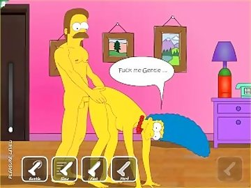 Simpsons Porn, tits, small, anal, mature, ned, simpson, marge, petite, fuck, ass, cartoon