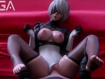 Nier: Automata Hentai