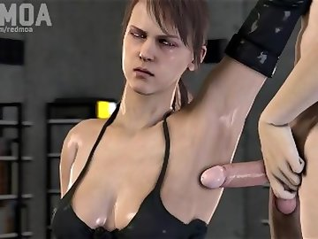 Metal Gear Porn, armpit, fetish, weird, gear, metal, quiet, hentai, 3d