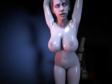 Metal Gear Porn, big tits, solid, game, video, cartoon, machine, dildo, tits, gear, metal, quiet, babe, sexy, toys, adult, boobs