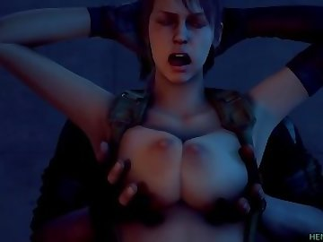 Metal Gear Porn, cartoon, big tits, boobs, solid, gear, metal, sfm, quiet, anime