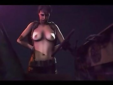 Metal Gear Porn, cartoon, anal, babe, animation, gear, metal, hentai, 3d, quiet