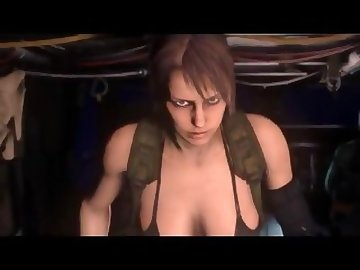 Metal Gear Porn, cartoon, quiet, solid, gear, metal, videogames, movie, animated, 3d