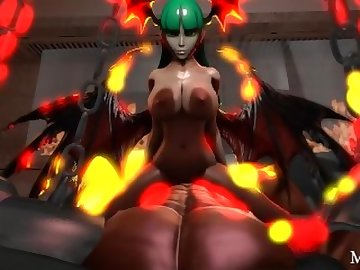 Darkstalkers Hentai, cartoon, pov, hardcore, succubus, sourcefilmmaker, sfm, parody, darkstalkers, pregnant, impregnation, creampie, mrsafety, aensland, morrigan, anime, view, point