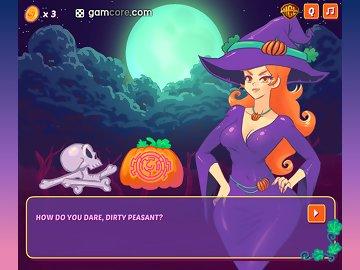 swf, gamcore, halloween, maze, witches