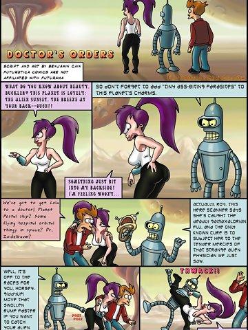 Futurama porno Comic Strip