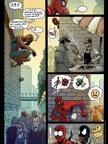 spiderman-doujinshi
