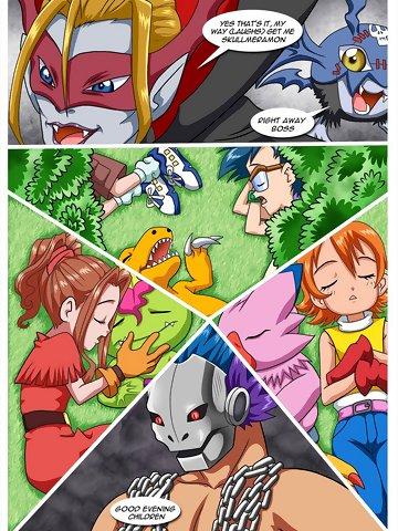 Hentai comic digimon Digimon Hentai